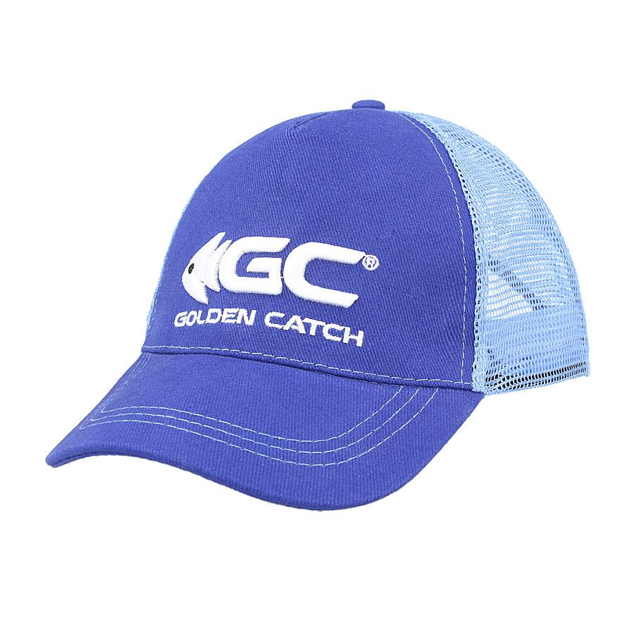 Кепка GC синяя с сеткой